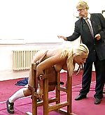 Girls fixed and spanked