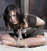 Sammi stripped, roped and teased