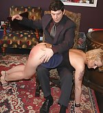 Bratty girlfriend spanked humiliatingly